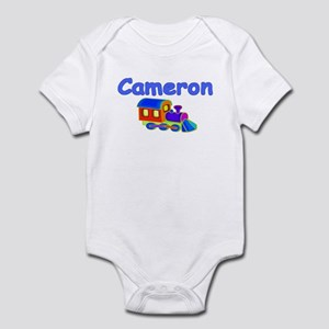 Train Engine Cameron Infant Creeper