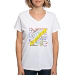 SUMMER Women's V-Neck T-Shirt