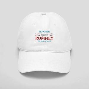 Teacher Against Romney Cap