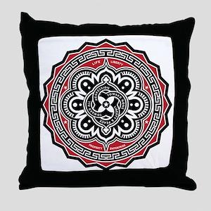 Voluntaryist Arabesque Throw Pillow