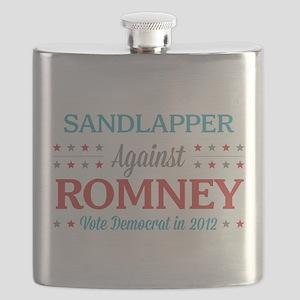 Sandlapper Against Romney Flask