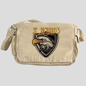 St. Richards Logo Messenger Bag