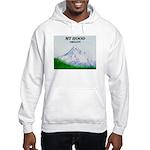 Mt Hood, Oregon Hooded Sweatshirt