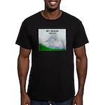 Mt Hood, Oregon Men's Fitted T-Shirt (dark)