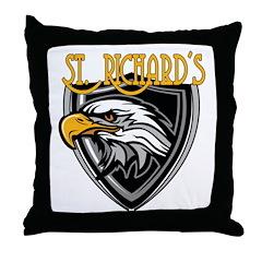 St. Richards Logo Throw Pillow