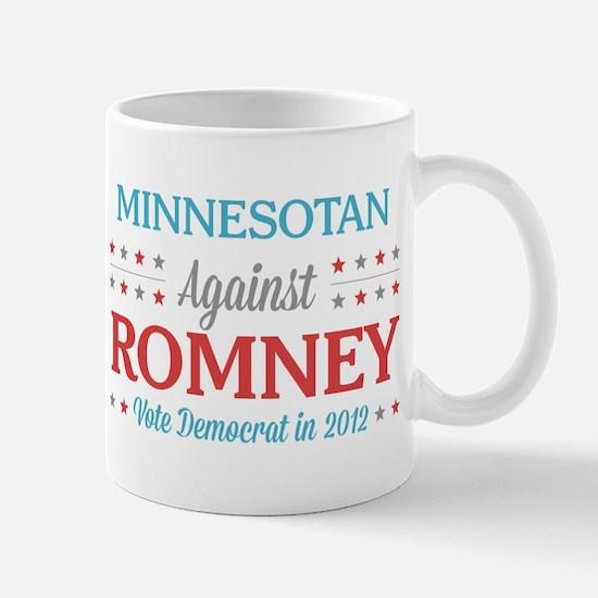 Minnesotan Against Romney Mug