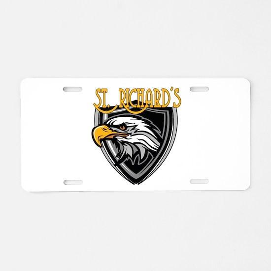St. Richards Logo Aluminum License Plate