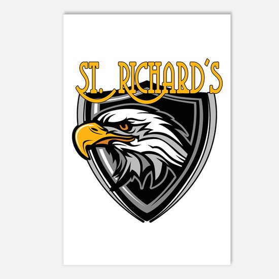 St. Richards Logo Postcards (Package of 8)