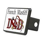 French Mastiff Rectangular Hitch Cover