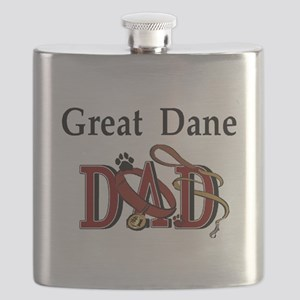 great dane dad darks Flask