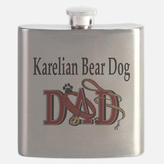 Karelian Bear Dog Tranz.png Flask