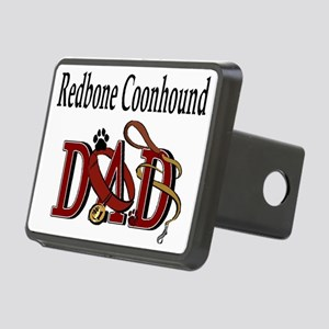 redbone coonhound dad darks Rectangular Hitch