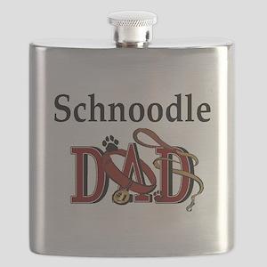 schnoodle dad darks Flask