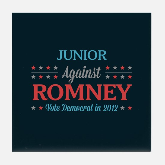 Junior Against Romney Tile Coaster