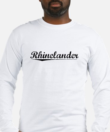 Rhinelander, Vintage Long Sleeve T-Shirt