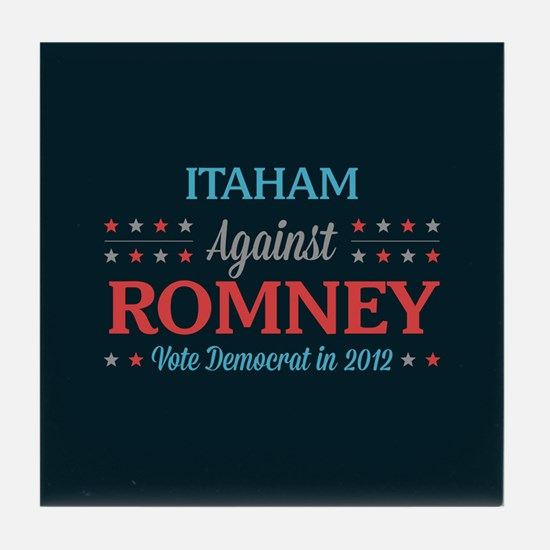 Itaham Against Romney Tile Coaster