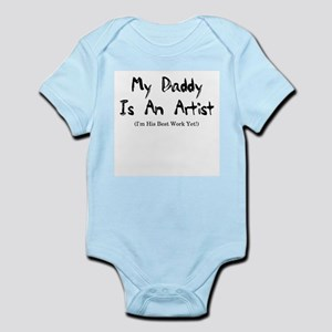 Daddy is an Artist Infant Creeper