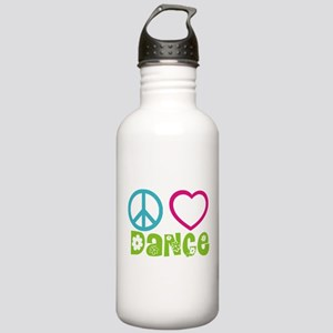 Peace Love Dance Stainless Water Bottle 1.0L