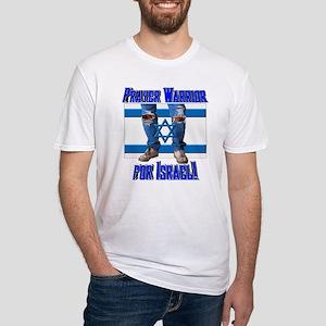Prayer Warrior! Fitted T-Shirt
