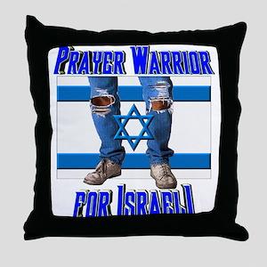 Prayer Warrior! Throw Pillow