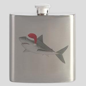 Christmas - Santa Shark Flask