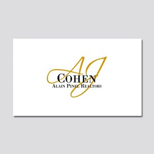 AJ Cohen Car Magnet 20 x 12