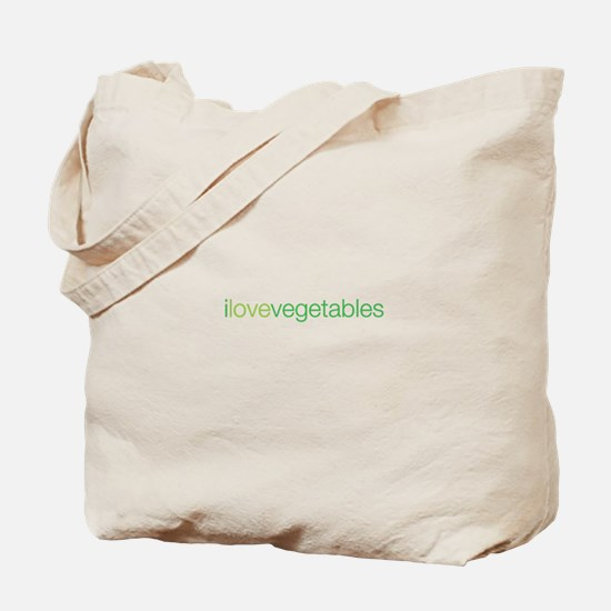 i love vegetables Tote Bag