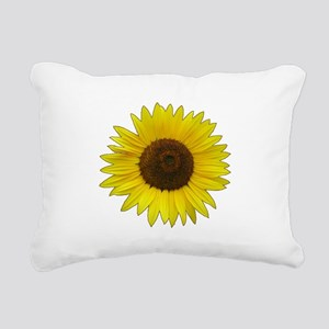Helaine's Sunflower Rectangular Canvas Pillow