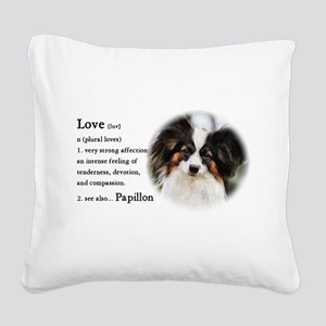 Papillon Gifts Square Canvas Pillow