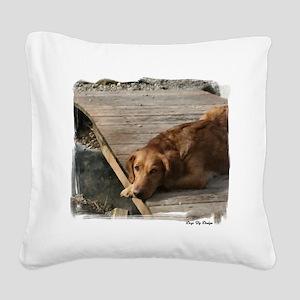 ranger eyes (2) Square Canvas Pillow