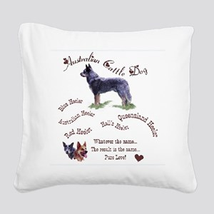 acd group names 2 Square Canvas Pillow