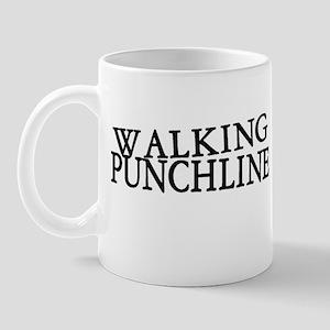 Walking Punchline Mug