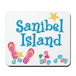 Sanibel Island Flip-Flops Mousepad