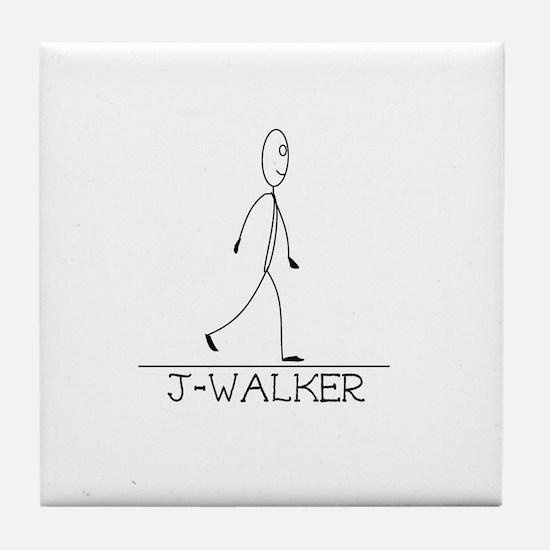 J-Walker Tile Coaster