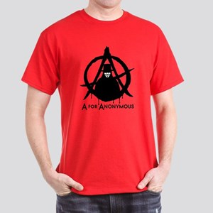 A for Anonymous 2c Dark T-Shirt
