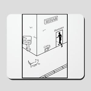 Rehab Cat Mousepad
