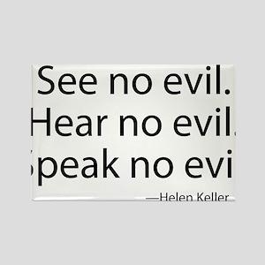 See no evil. Hear no evil. Speak no evil. Rectangl