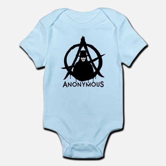 Anonymous Vendetta Infant Bodysuit