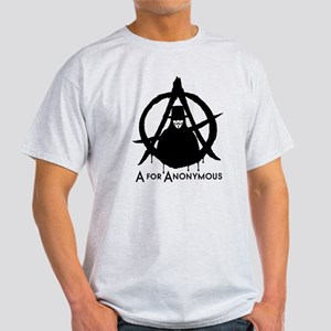 A for Anonymous Light T-Shirt