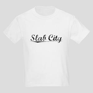 Slab City, Vintage Kids Light T-Shirt