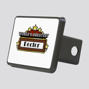 World's Greatest Doctor Rectangular Hitch Cover