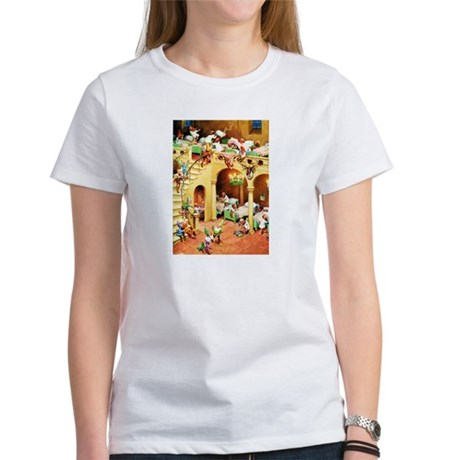 Santa's Elves at the North Pole Women's T-Shirt