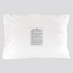 Masonic Membership Card Pillow Case
