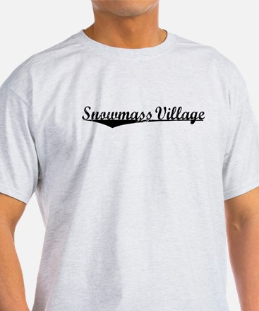 Snowmass Village, Vintage T-Shirt