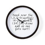 Hand over the caffeine - Wall Clock