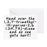 Hand over the caffeine - Greeting Cards (Pk of 20)