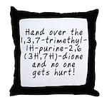 Hand over the caffeine - Throw Pillow