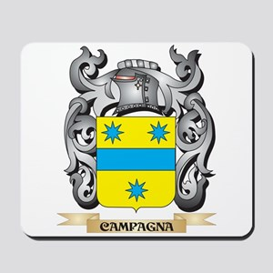Campagna Family Crest - Campagna Coat of Mousepad