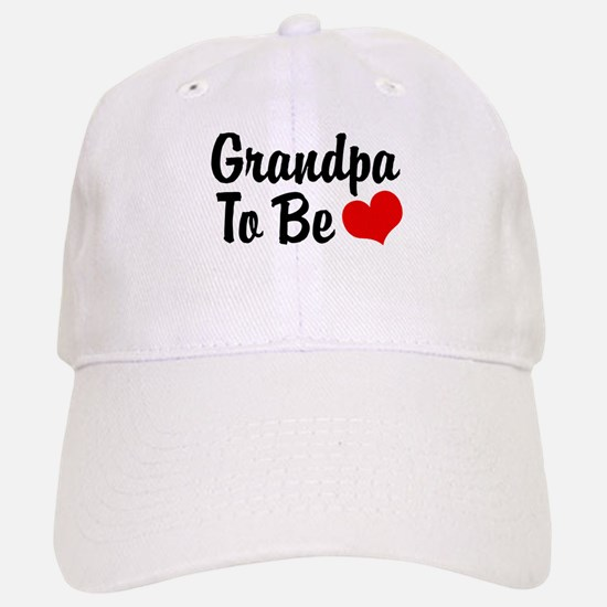 Grandpa To Be Baseball Baseball Cap