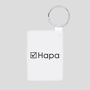 Check Hapa Aluminum Photo Keychain